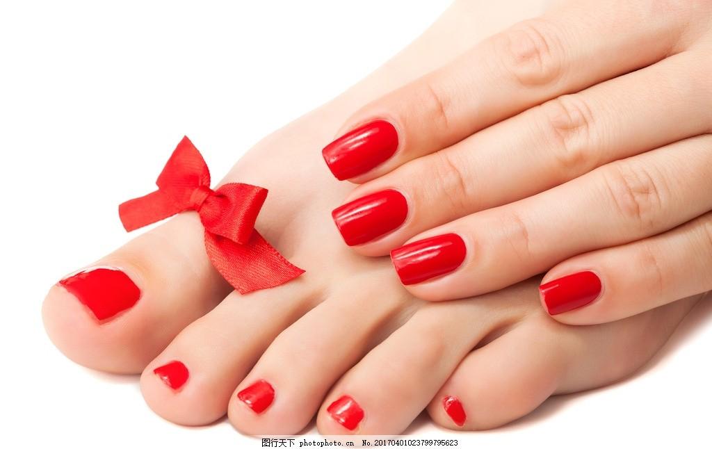 玫红指甲 美甲 美甲摄影图 美甲宣传画 美甲广告 时尚美甲 美容养生