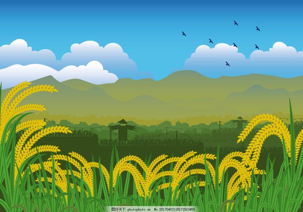 壁纸 成片种植 风景 植物 种植基地 桌面 1024_716