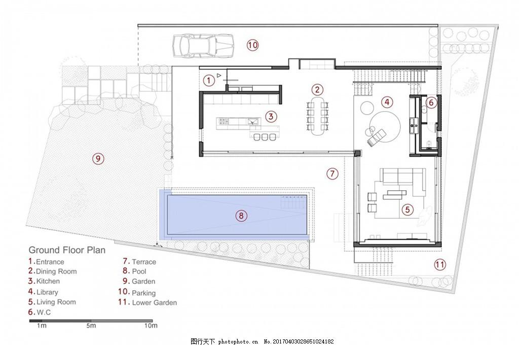 简约室内装修设计手稿图 家居 家居生活 室内设计 家具图片