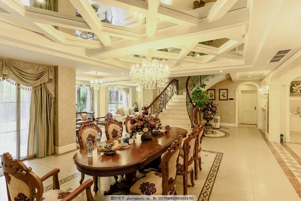 豪华餐厅吊顶设计图 家居 家居生活 室内设计 装修 室内 家具 装修