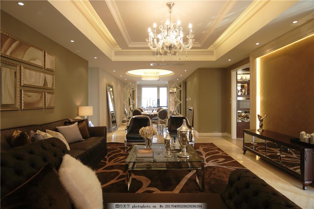 豪华别墅客厅装修效果图 室内设计 家装效果图 欧式装修效果图 时尚