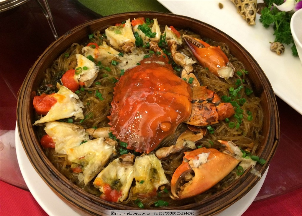 螃蟹 蒸螃蟹 餐饮 美食 海鲜 摄影