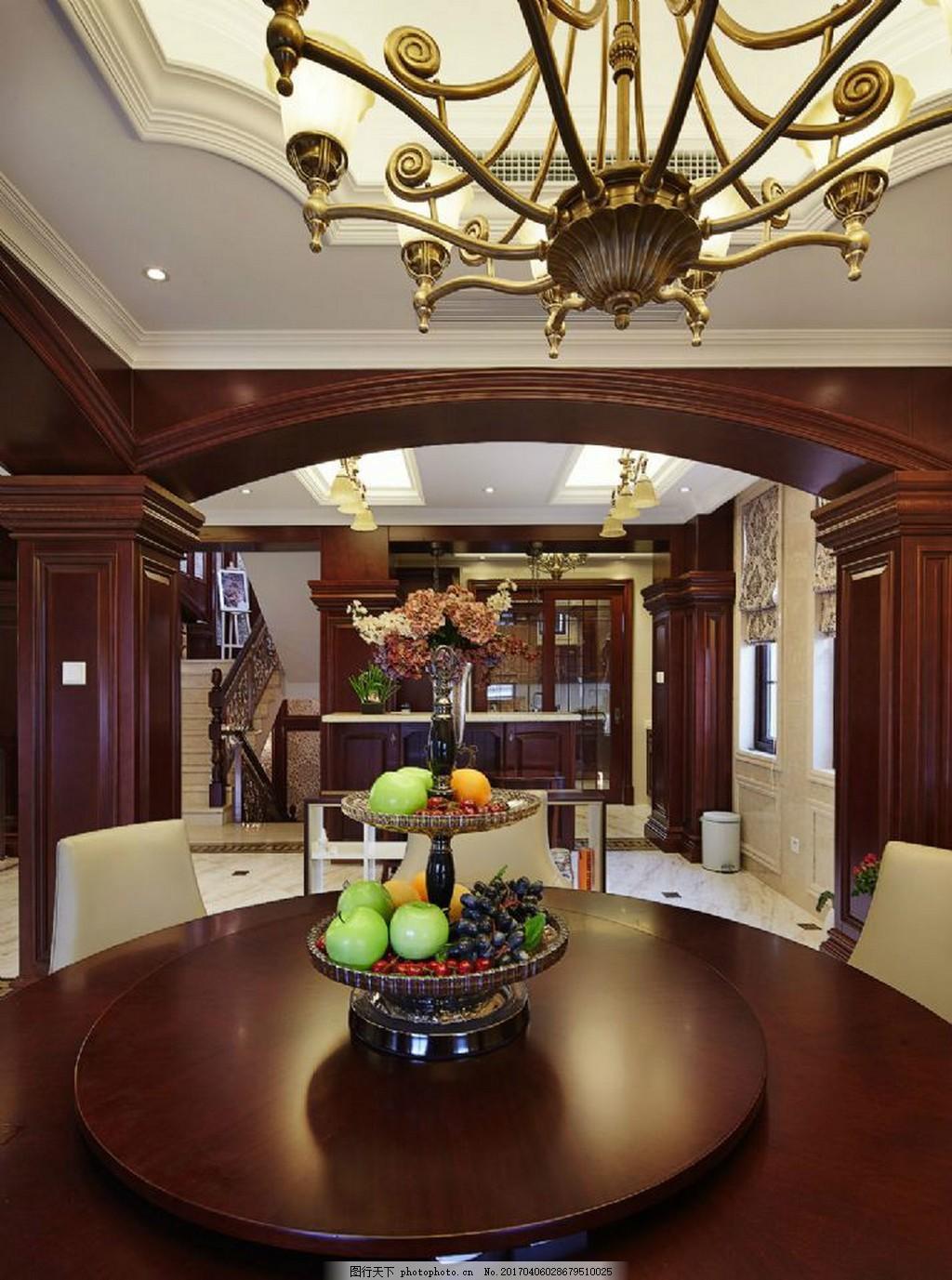 豪华餐厅餐桌设计图 家居 家居生活 室内设计 装修 家具 装修设计