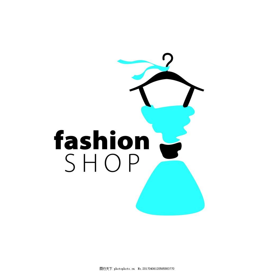 卡通手绘裙子矢量素材源文件 时尚 服装 图标