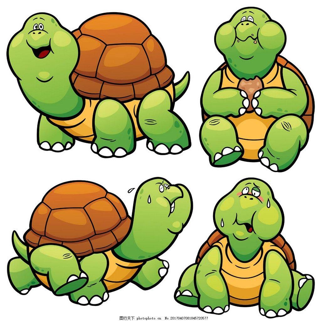卡通乌龟漫画图片