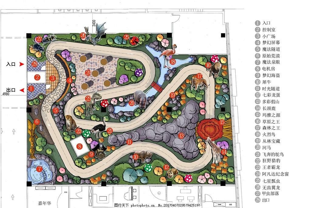 游乐园索引图 乐园规划设计 游乐园 游乐场 主题乐园 公园 设计 环境
