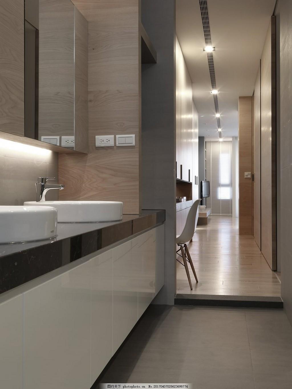 港式时尚卫生间洗手台设计图
