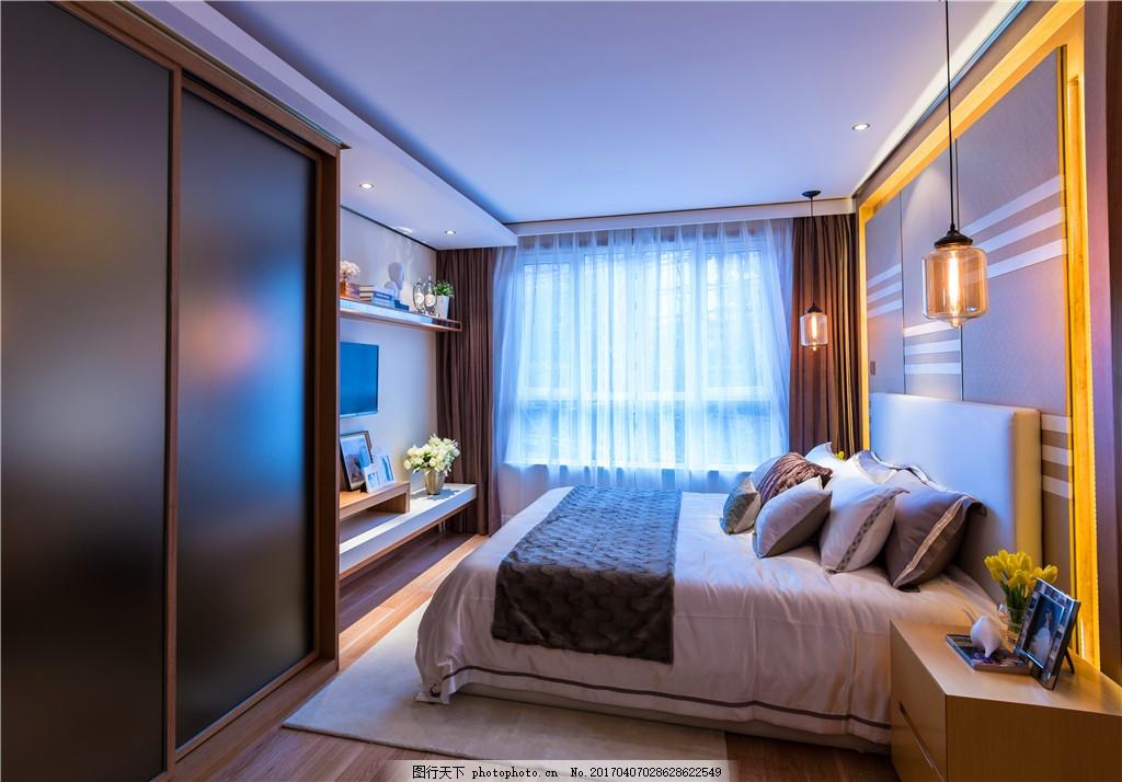 欧式简约卧室装修效果图图片