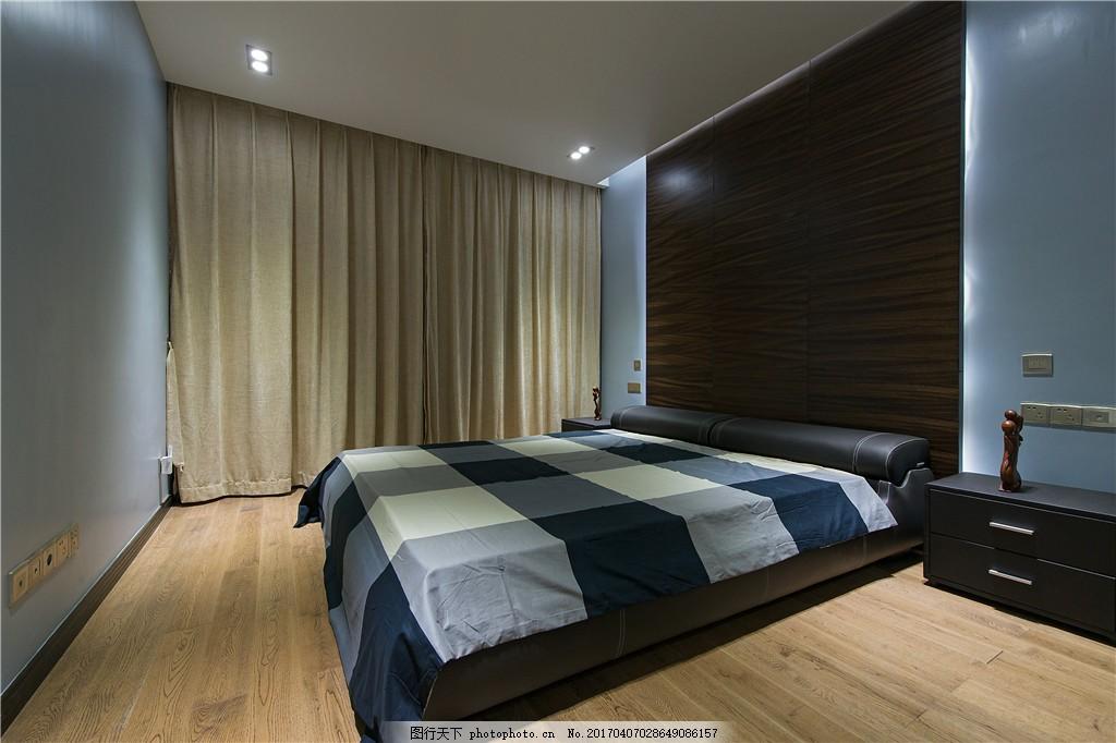 简约室内卧室设计图