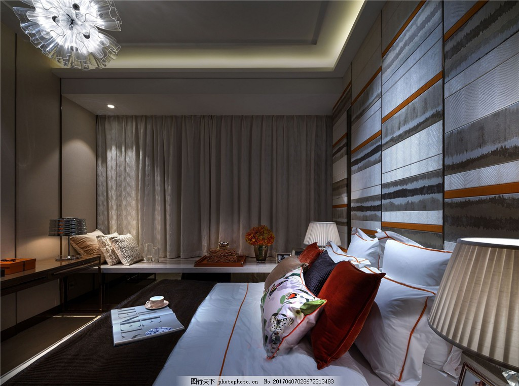 时尚室内卧室设计图