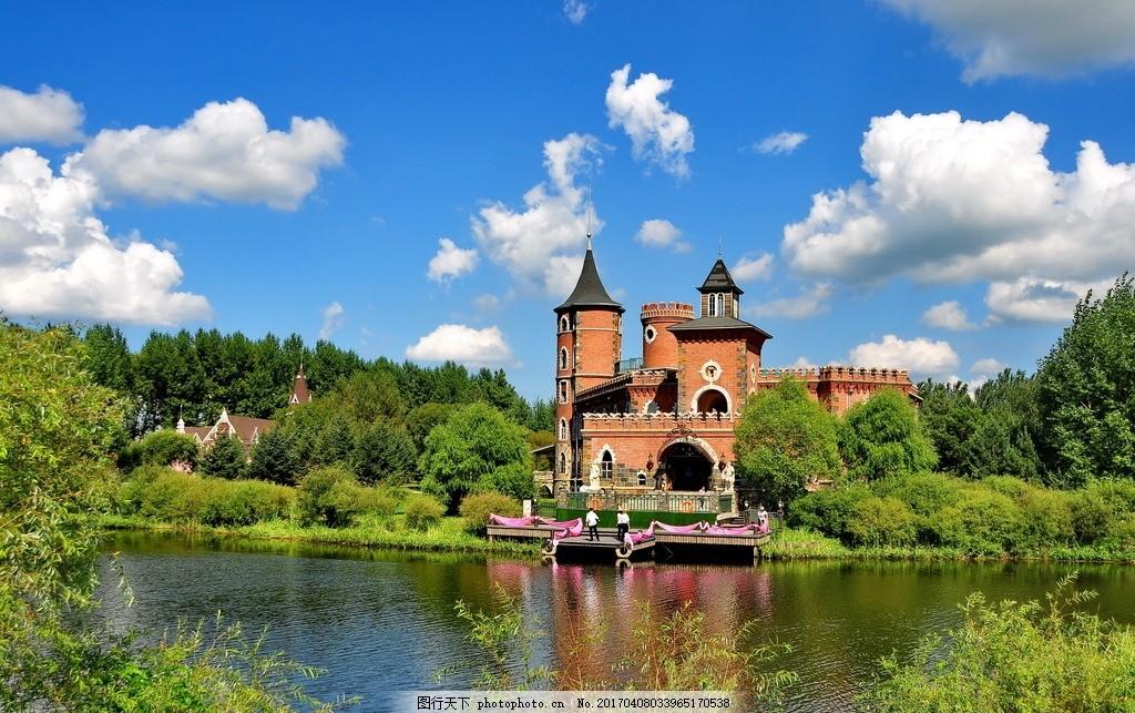 唯美 风景 风光 旅行 自然 哈尔滨 伏尔加庄园 欧式庄园 庄园 摄影