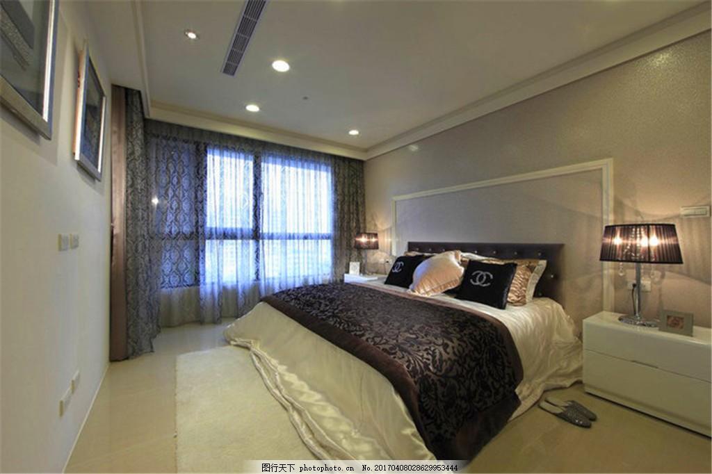 新欧式卧室装修效果图