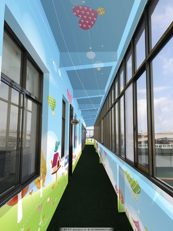 楼道设计图 楼道 墙绘 绘画 幼儿园