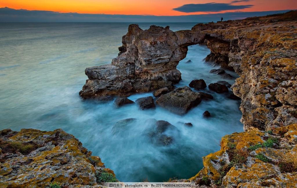 秦皇岛大海 唯美 风景 风光 旅行 自然 海景 海边 碣石滩 夕阳