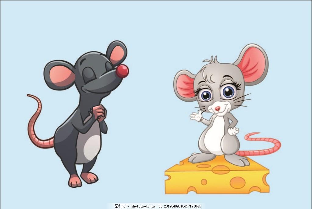 动物素材 可爱动物 卡通动物素材 漫画 老鼠 卡通老鼠 设计 动漫动画