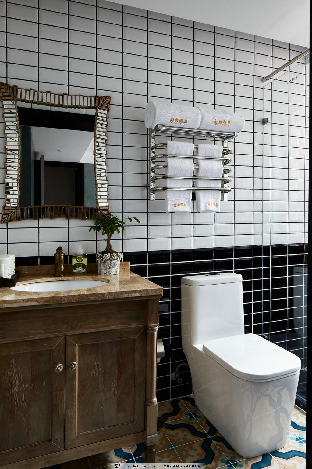 卫生间装修效果图 玻璃 瓷 大理石 大气 简约 欧式 现代 浴室