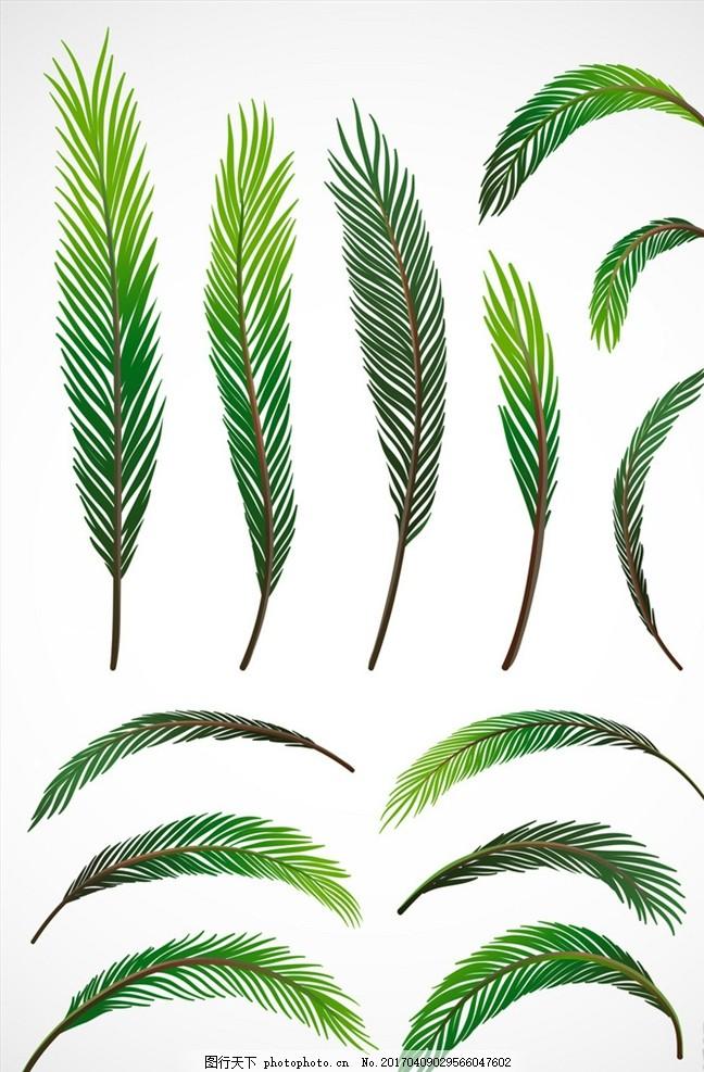 绿色 小清新 文艺 手绘 日系 水彩 树叶 绿叶 叶子 边框 木板纹理
