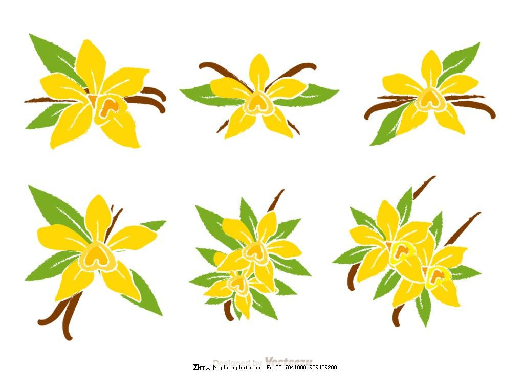 手绘唯美花卉