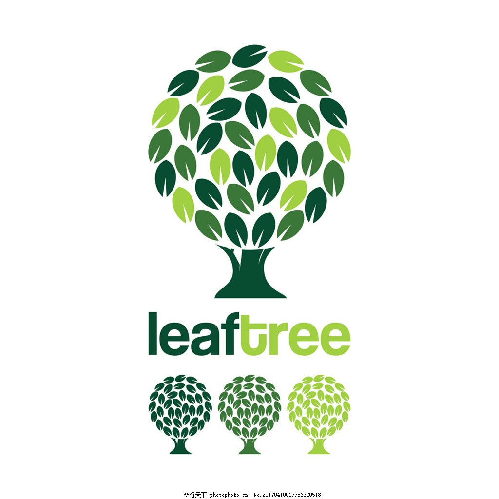 logo树叶设计图片