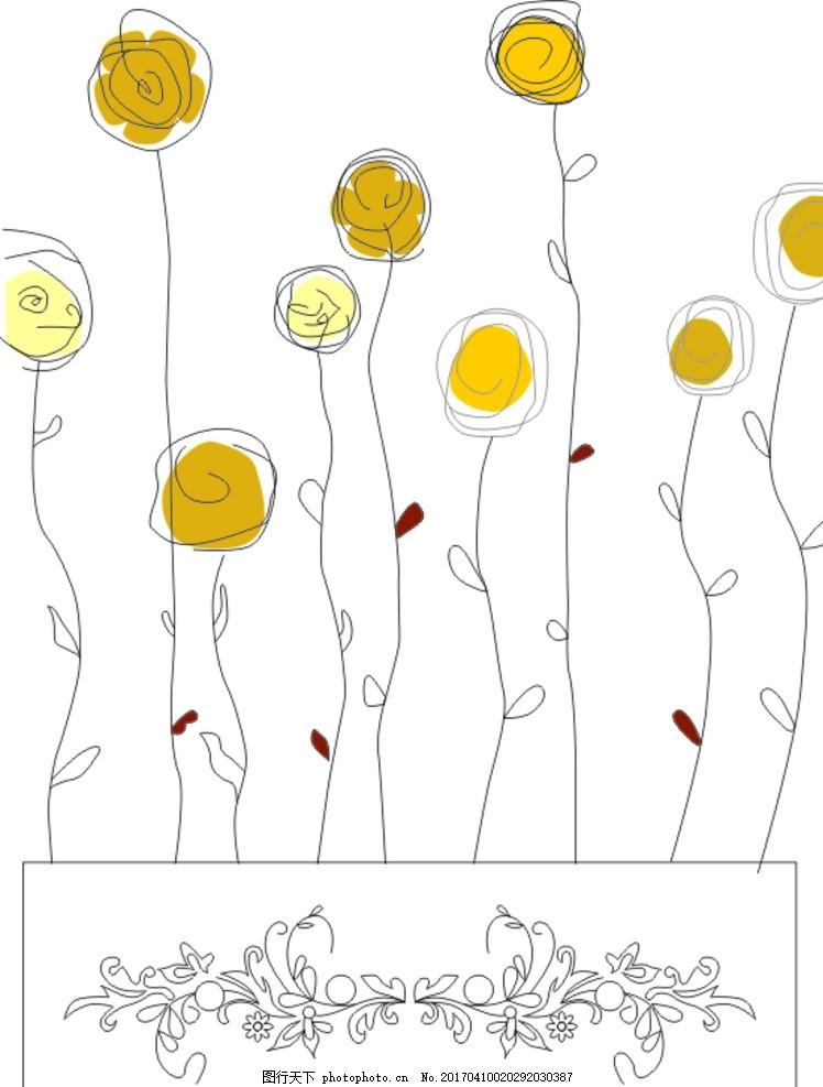 花纹 矢量花纹 蝴蝶 欧式花纹 菜谱 花滕 字母 椭圆形 cdr 矢量图
