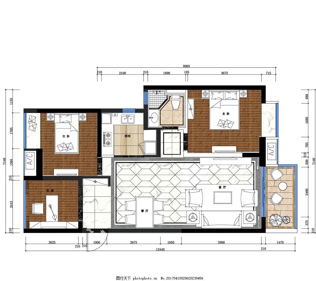室内设计手稿图 家居 家居生活 装修 家具 装修设计图片