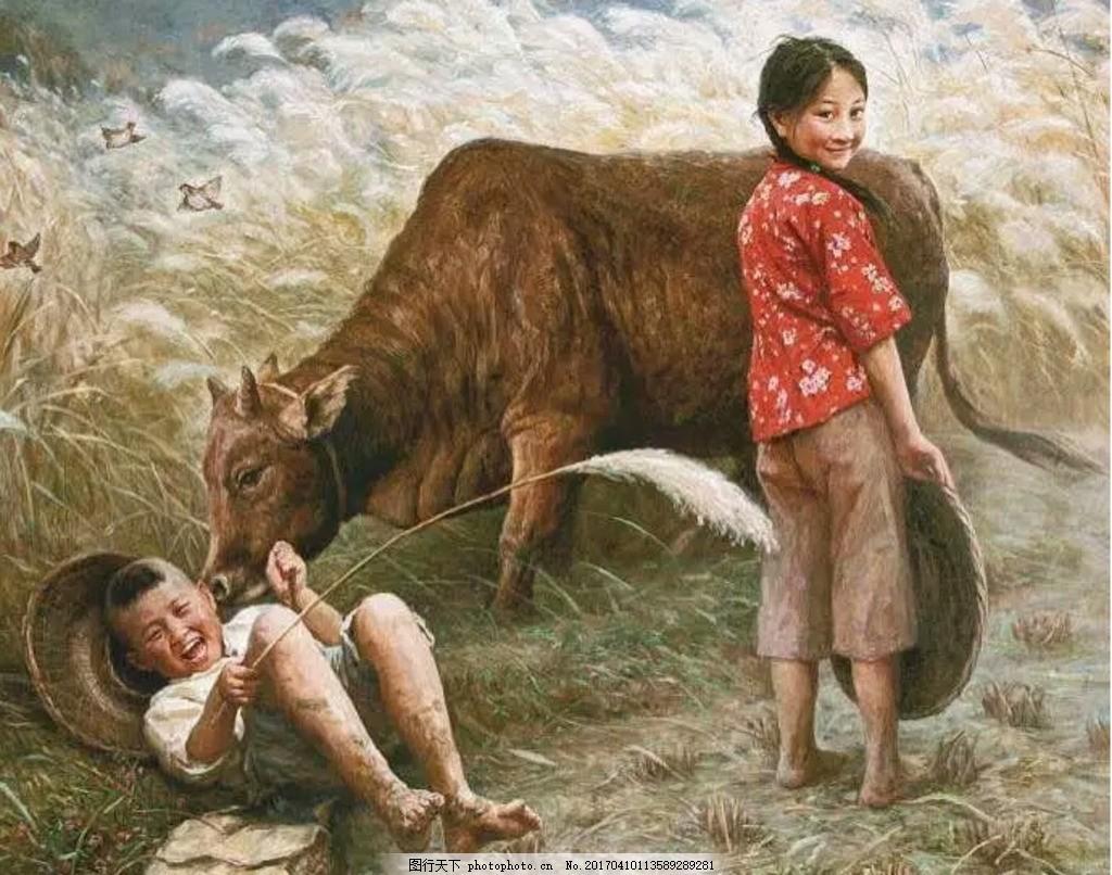 小孩可怜动物的图片