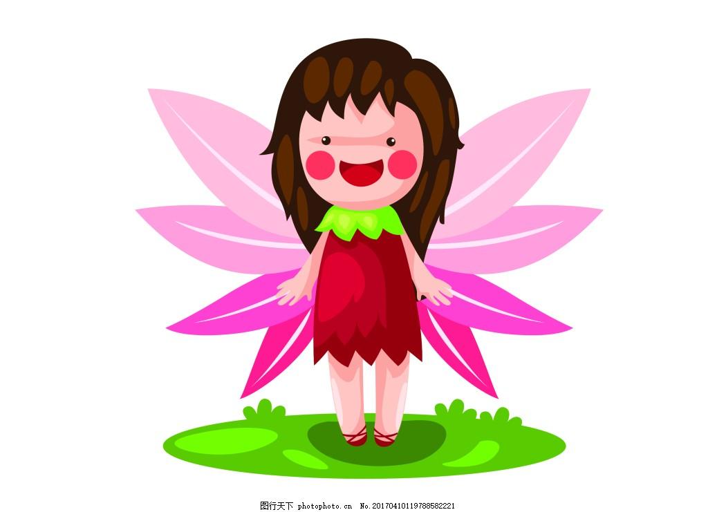 矢量可爱小蜜蜂eps 花纹花边 可爱动物 墙贴 墙画 儿童矢量素材 卡通