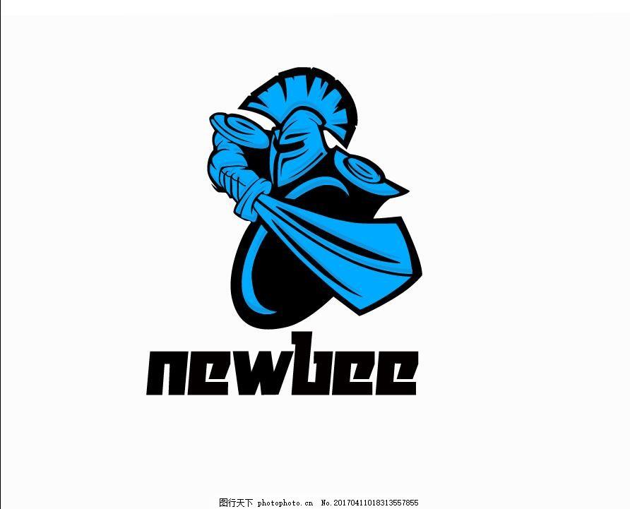 卡通人物logo dota   new bee 战队队服 dota new