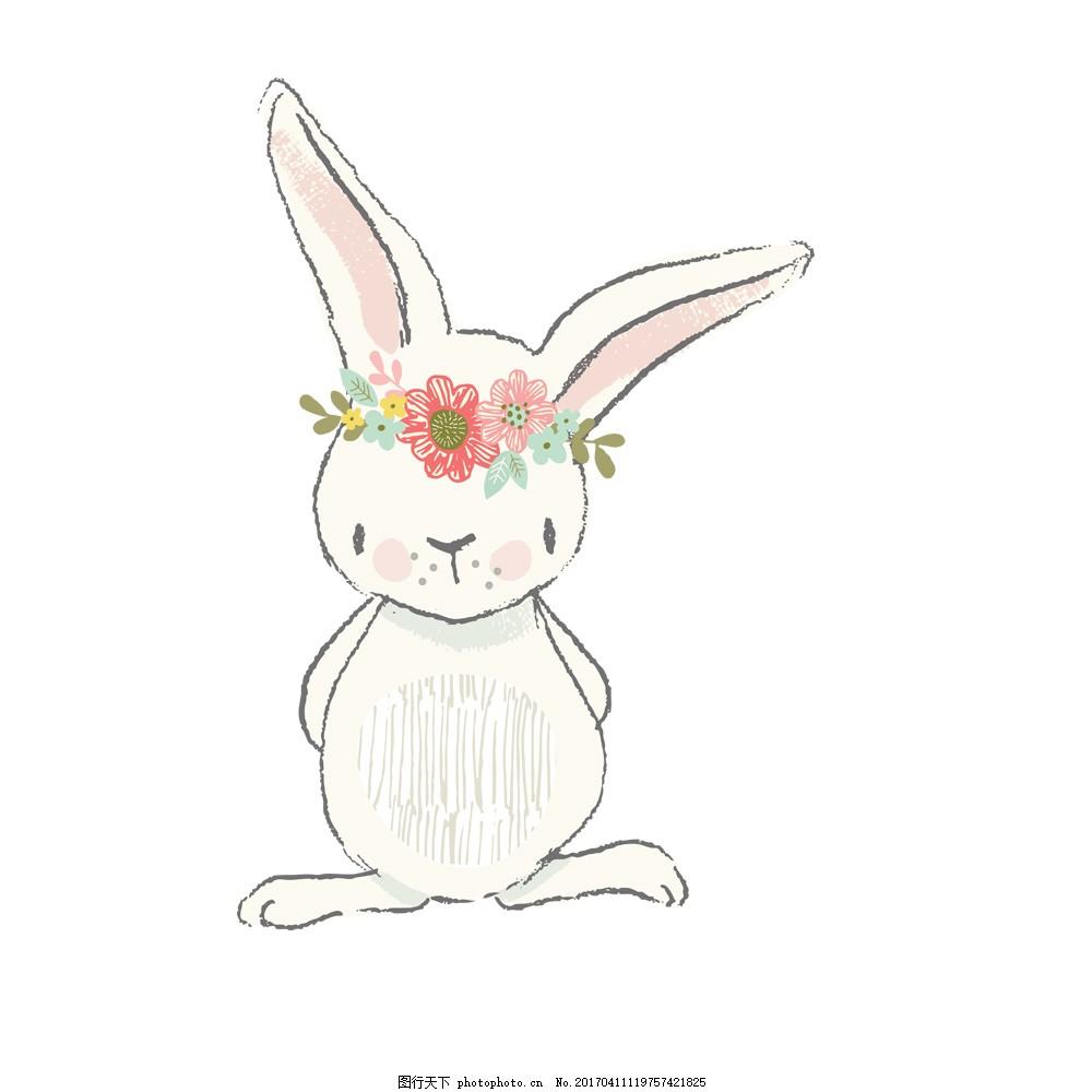 萌萌哒的小白兔