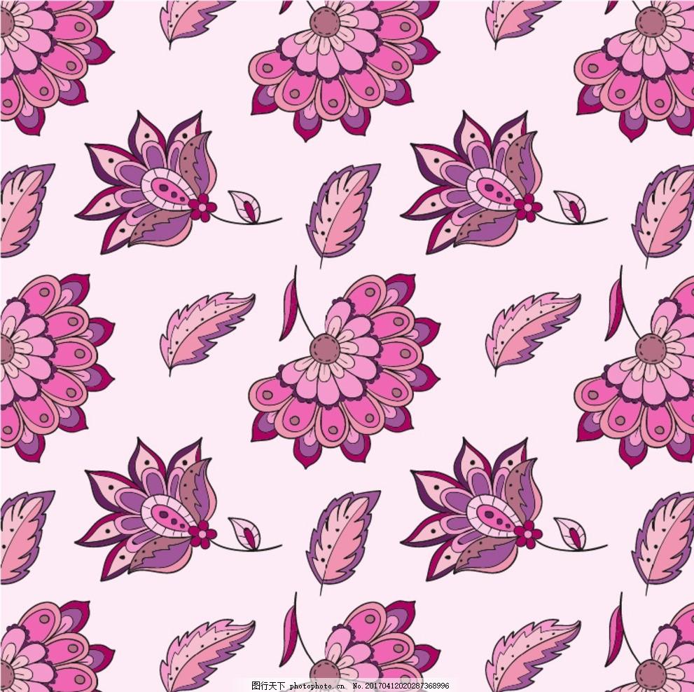 粉红色背景 圆形花纹 花纹 经典花纹 壁纸 背景 背景墙 移门图案 欧式