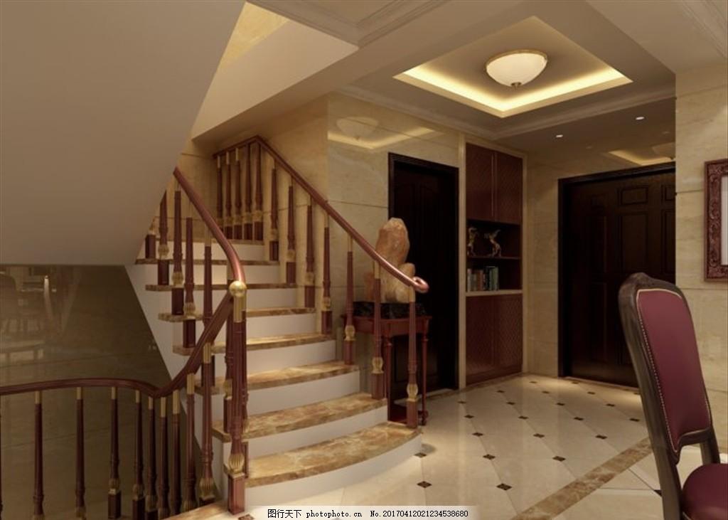 客厅楼梯装饰室内效果图 室内设计 室内效果图 室内装修 装饰公司