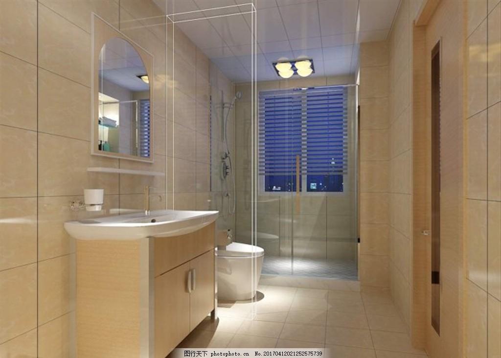 卫生间装饰室内效果图