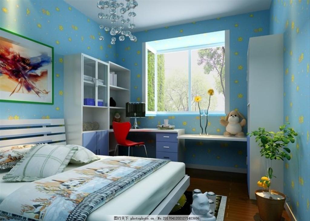 卧室装饰室内效果图图片