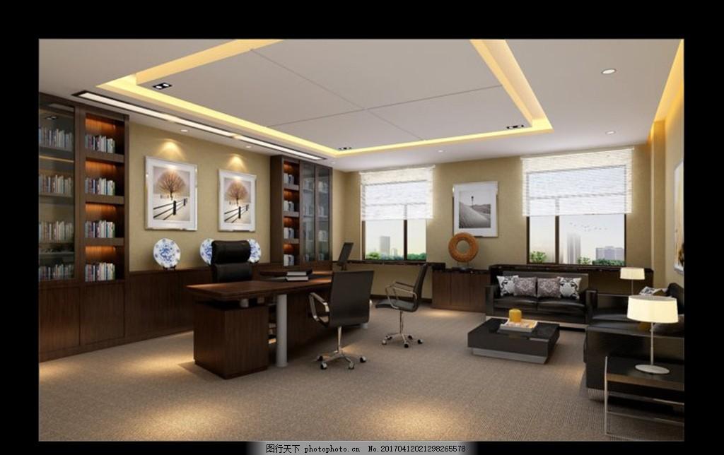 房间布置 餐厅 书房 橱窗 隔断 场景模型 壁纸 壁画 玄关 办公室 大厅-卫