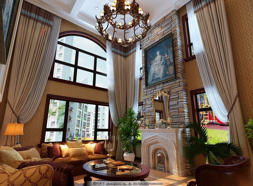 室内装修 别墅家装 家装 室内设计 别墅设计 房屋装修 室内环境 欧式