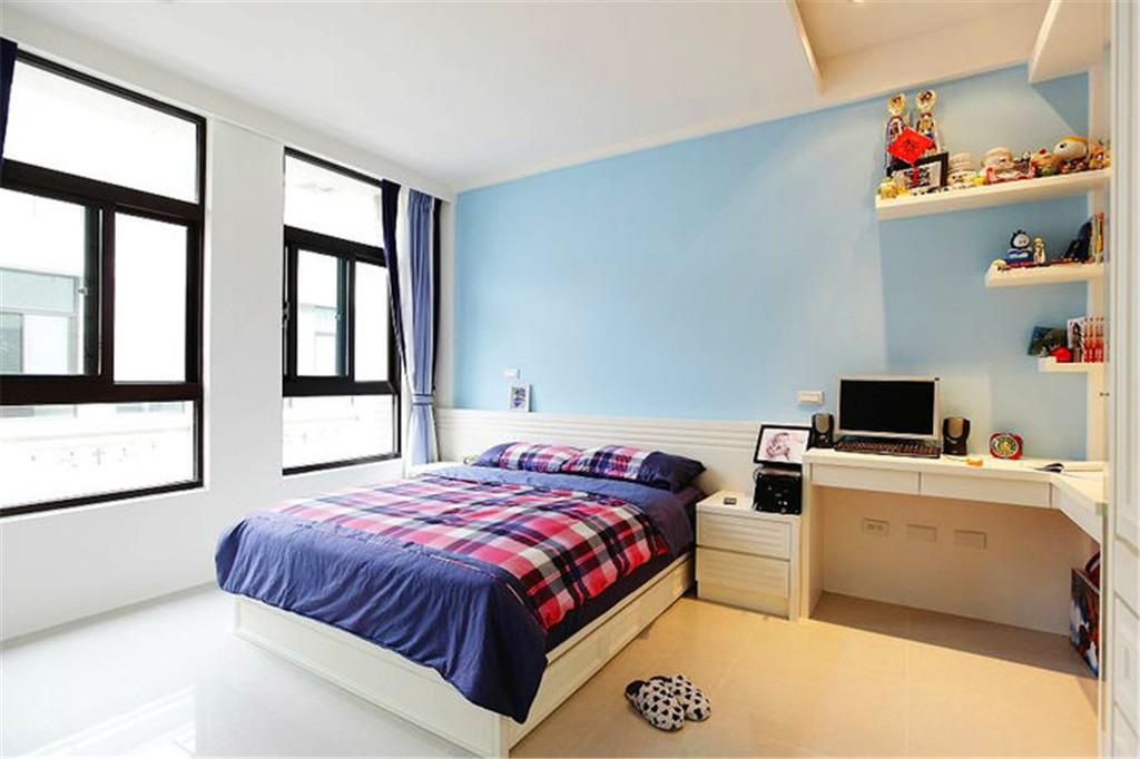 现代儿童房装修效果图 别墅 家装效果图 奢华 设计素材 时尚 室内设计