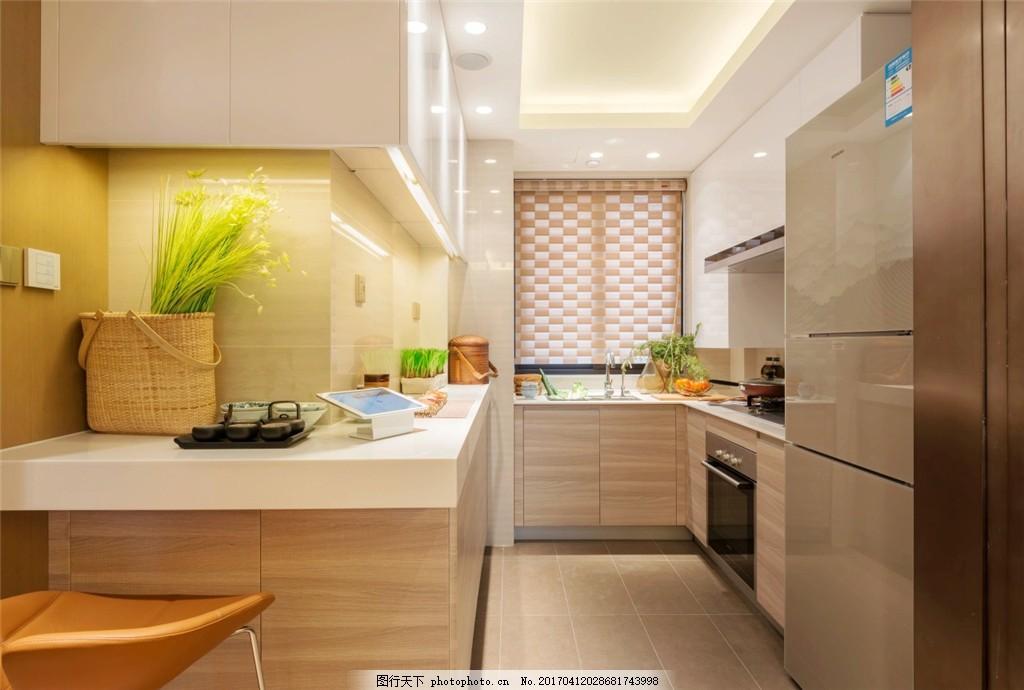 简约室内厨房设计图