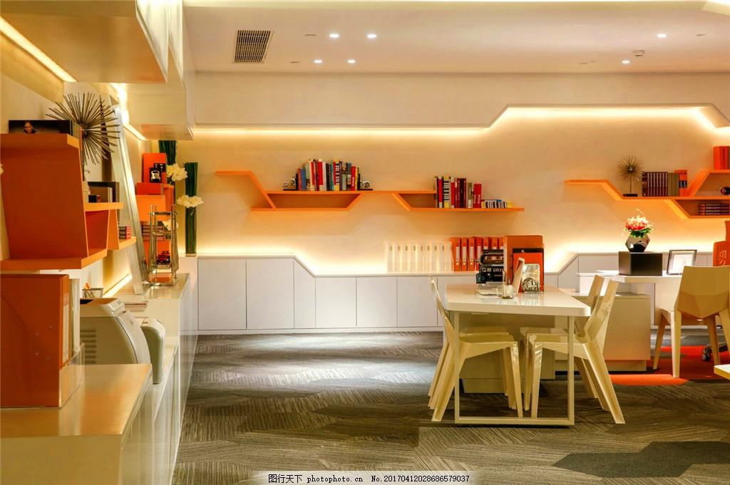 欧式风格办公室装修效果图图片