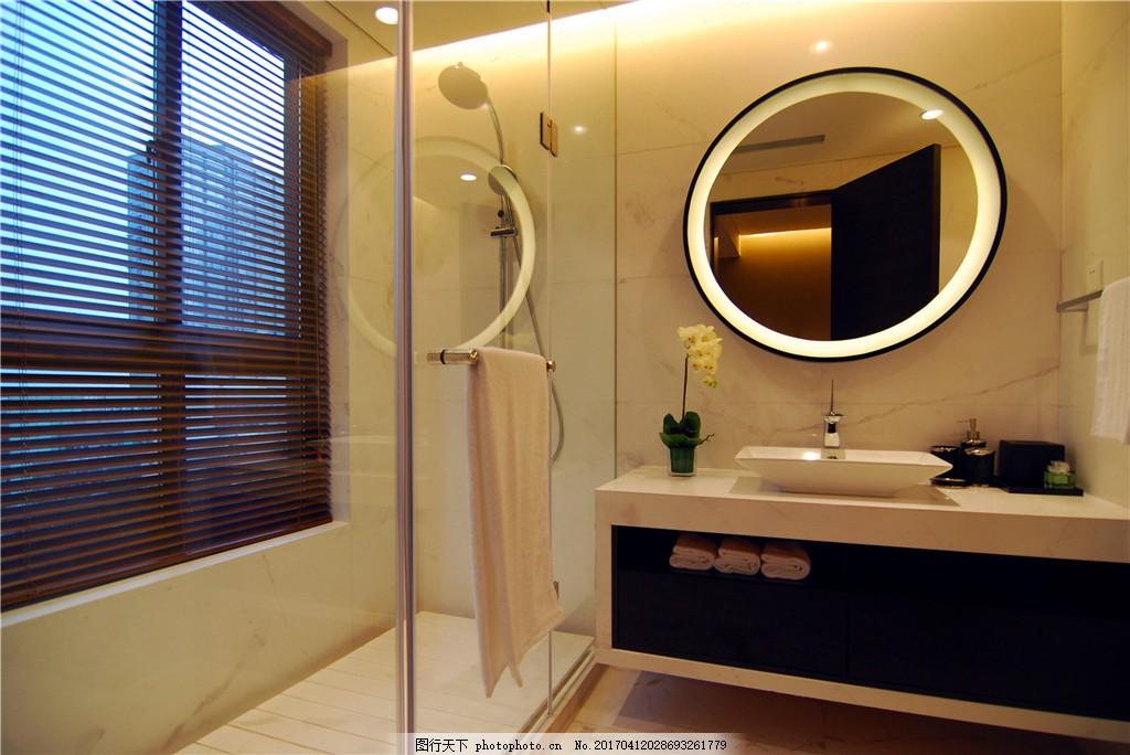 欧式卫生间装修效果图 别墅 家装效果图 淋浴房 欧式装修效果图