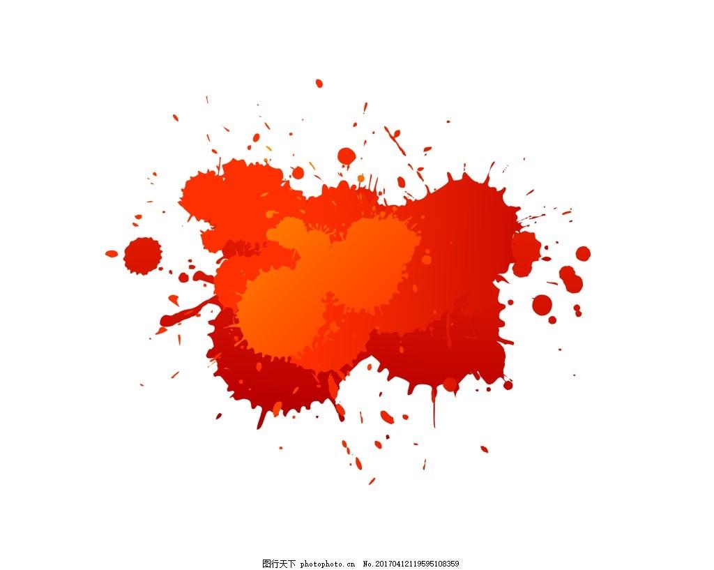 红色油漆eps 彩色颜料喷溅背景模板下载 彩色颜料喷溅背景图片下载
