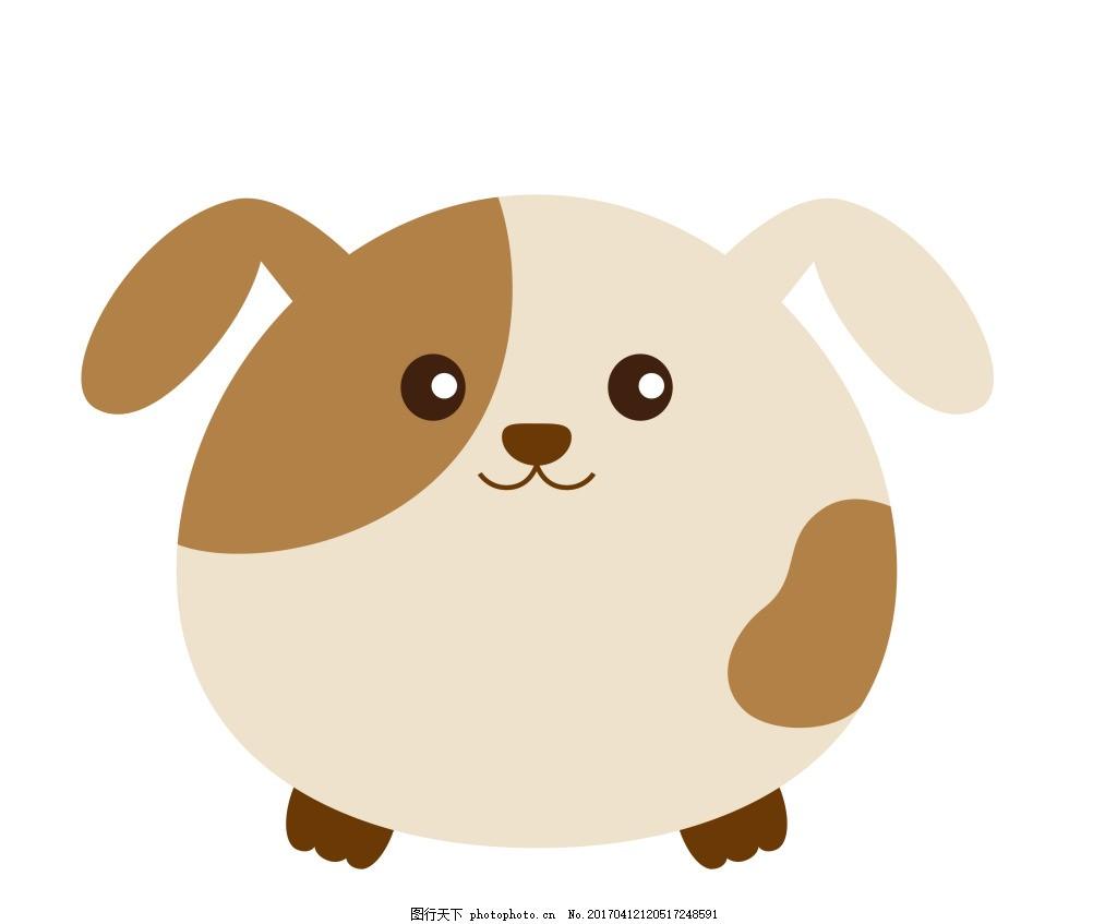 卡通动物矢量图图片下载 可爱卡通动物图 eps 矢量素材 小动物 卡通动