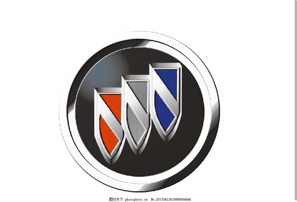 别克车标 别克 车标 商标 汽车 标志 设计 标志图标 企业logo标志 cdr