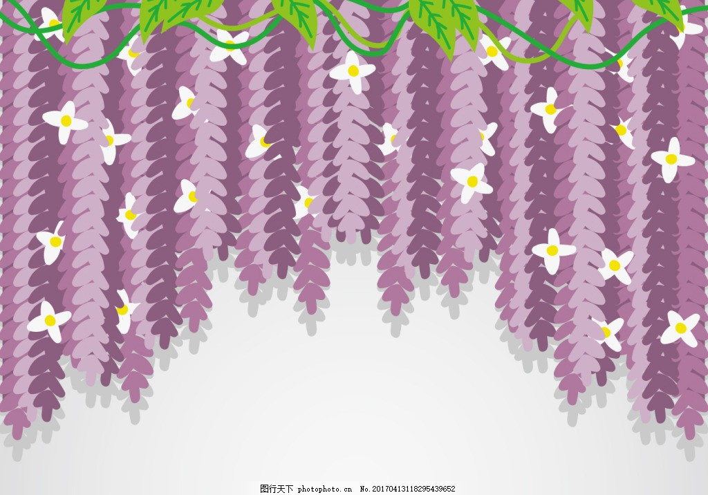 唯美花卉背景 手绘花卉 花卉素材 手绘花朵 花卉花朵 矢量素材