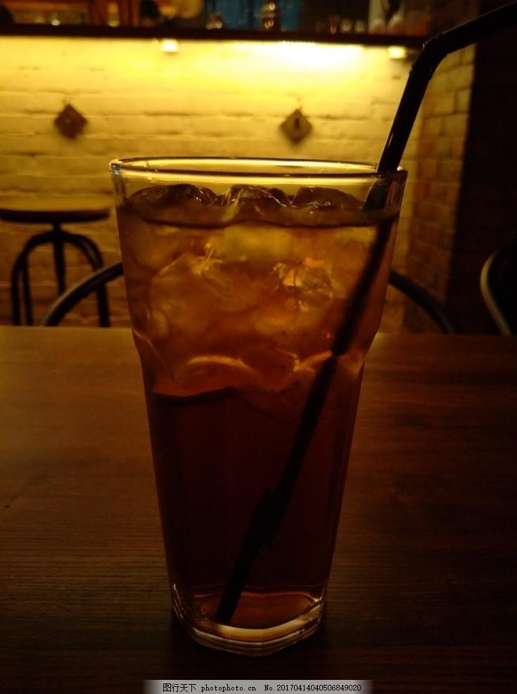 长岛冰茶 酒吧 情调 孤独 酒精 其他 摄影 餐饮美食 饮料酒水 72dpi
