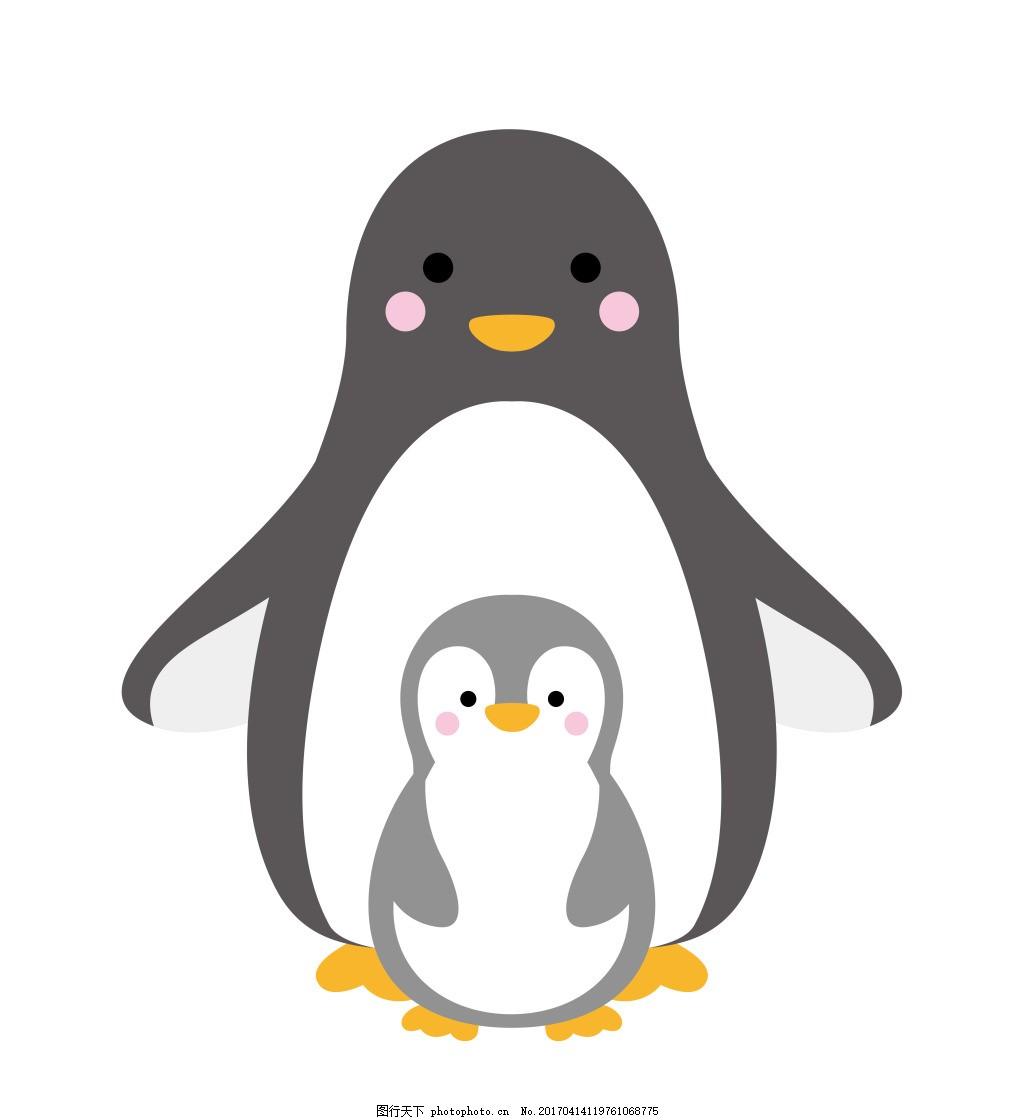 卡通小企鹅eps图片