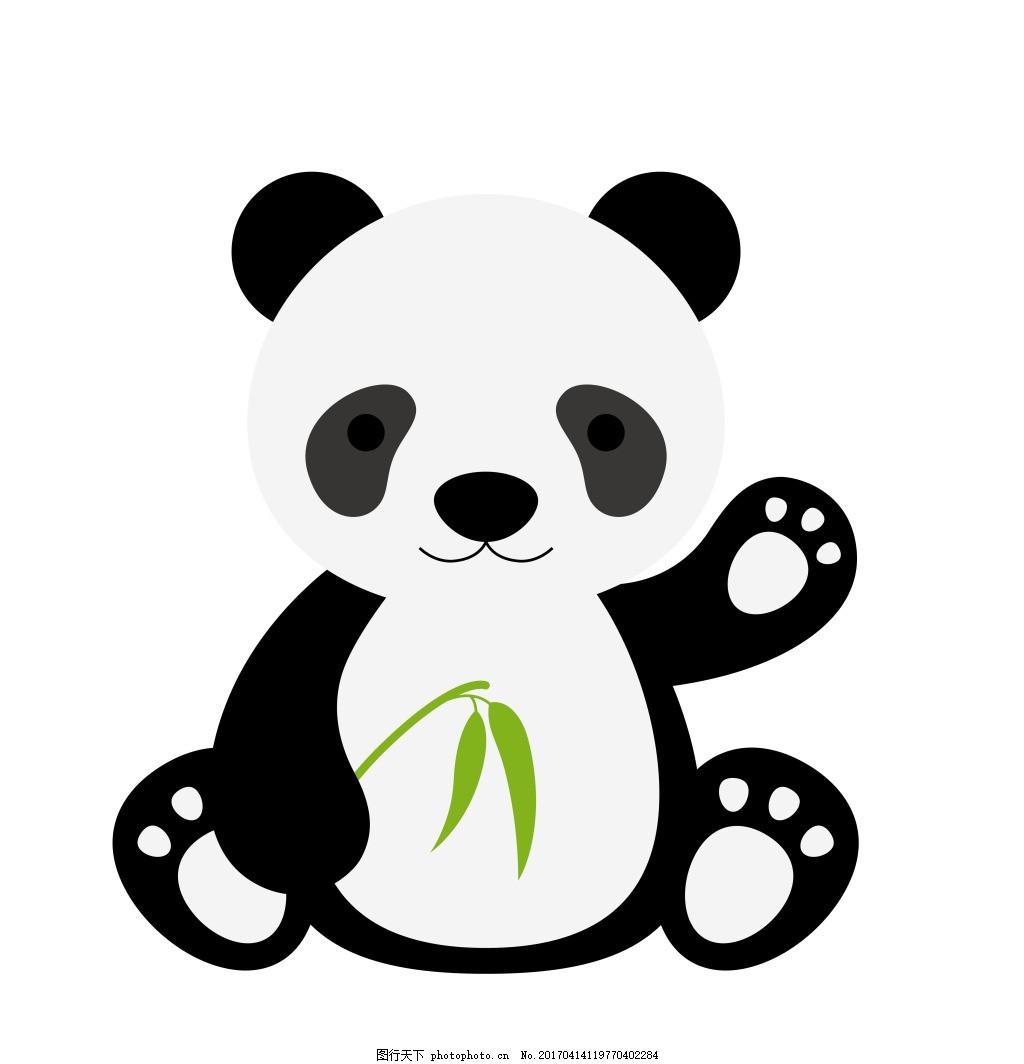 卡通小熊eps 卡通动物矢量图图片下载 可爱卡通动物图 矢量素材