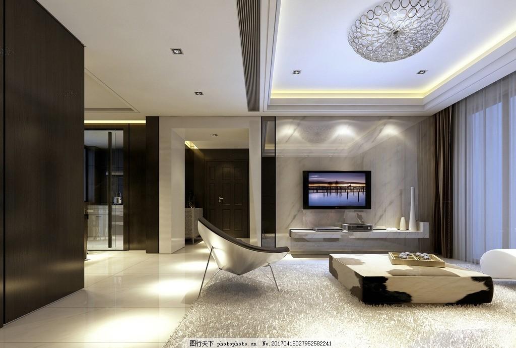 现代简约风格效果图 装饰 装修 家装 室内设计效果图未分类