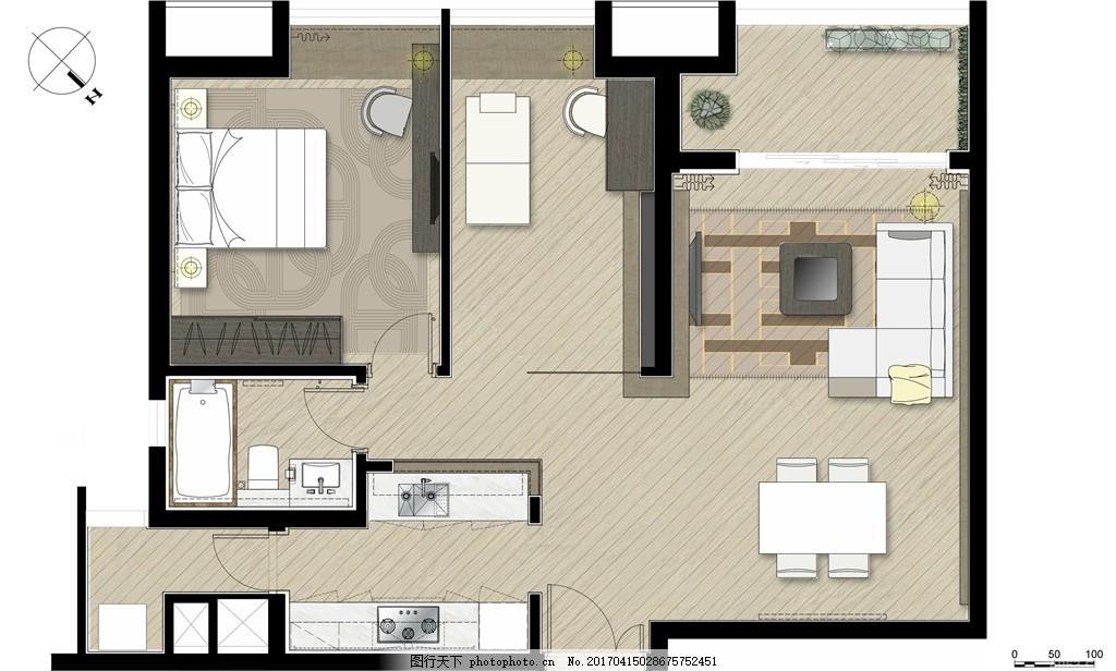 室内设计平面图 室内设计 装修 室内 家具 装修设计 环境设计 平面图