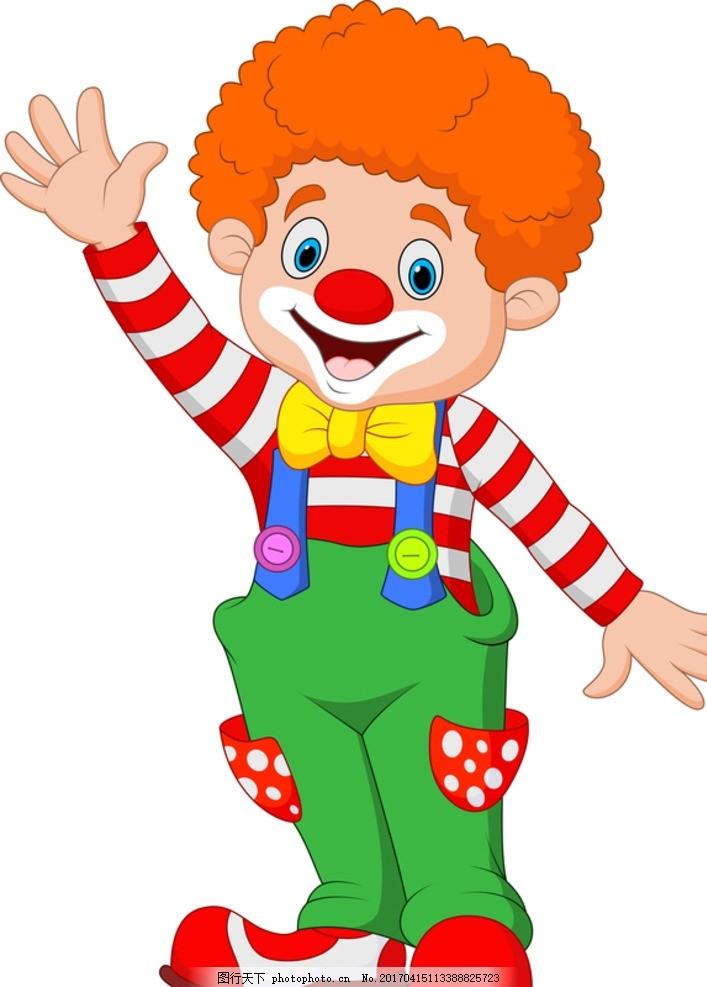 卡通马戏小丑 马戏 娱乐 马戏团 卡通 小丑 卡通设计 设计 广告设计