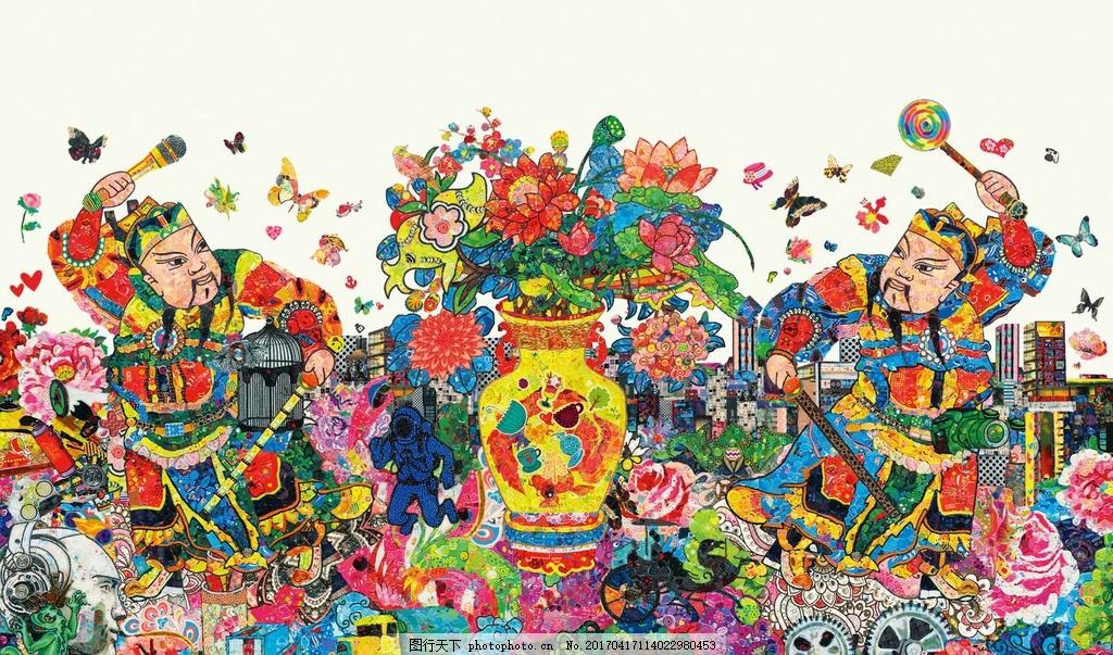 苹果2017鸡年mac卡通壁纸 插画手绘 文化艺术 绘画书法
